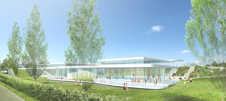 centre aquatique alt 127 architectes. Black Bedroom Furniture Sets. Home Design Ideas